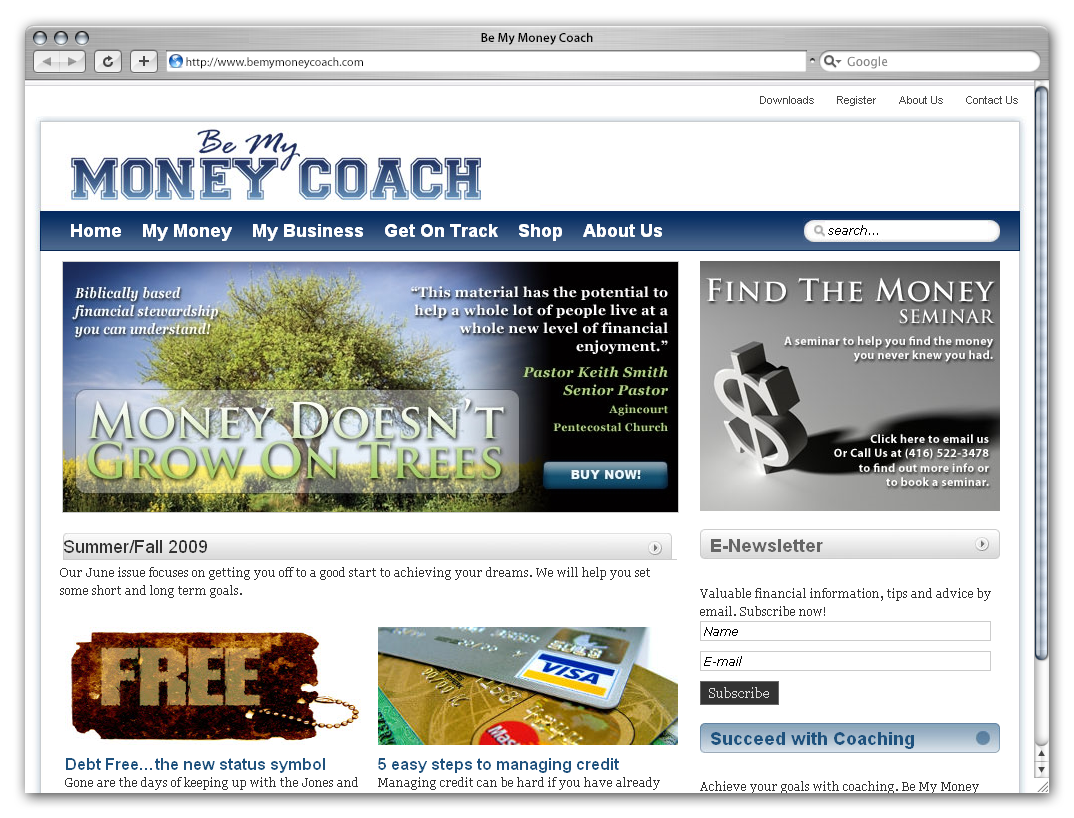 Be My Money Coach by Phenom Design Studio