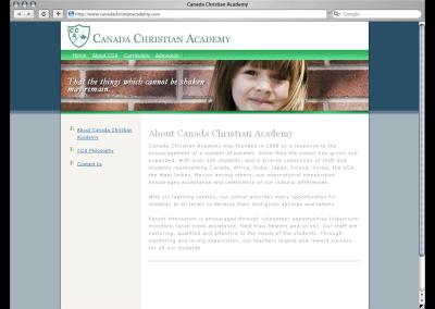 Canada Christian Academy