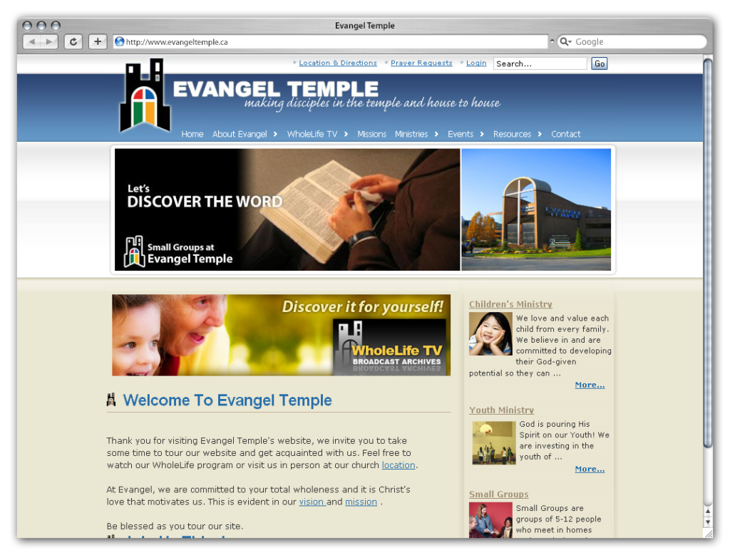 Evangel Temple