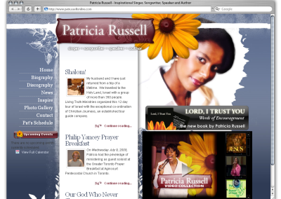 Patricia Russell Online