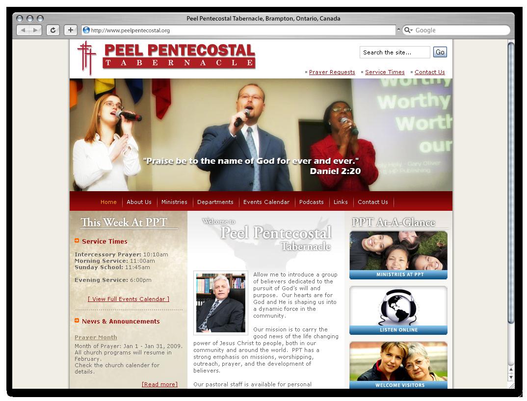 Peel Pentecostal Tabernalce