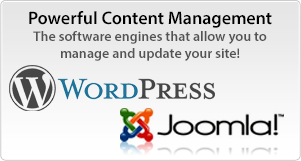 WordPress & Joomla CMS at Phenom Design Studio